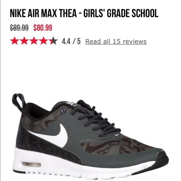 e1aabbe6fc Nike Shoes | Girls Air Max Thea | Poshmark
